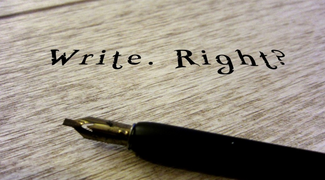 Write Right by Sandrine Spycher