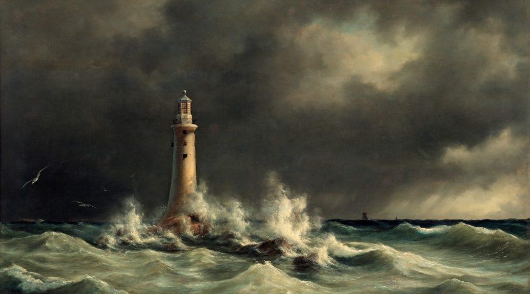 Lighthouse at Stora Bält