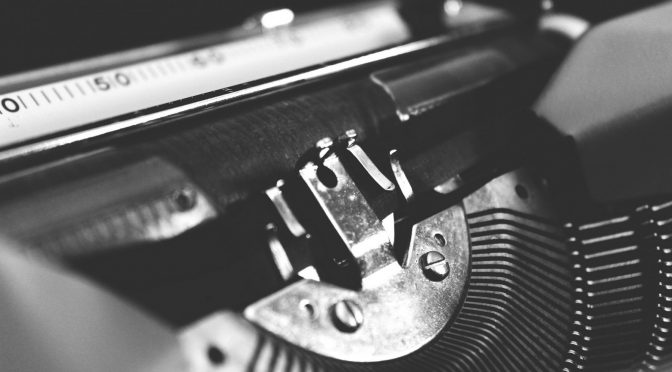 An image of a typewriter