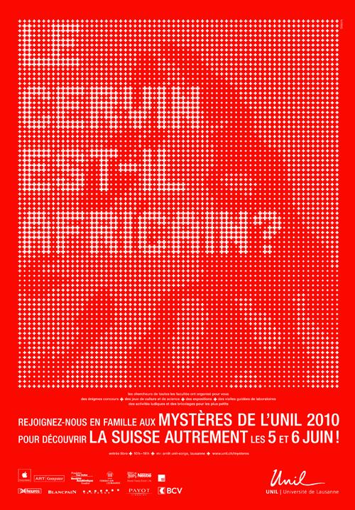 Mystères 2010