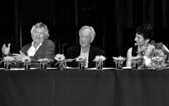 Jean-Pierre Lefebvre, Bernard Kreiss, Irene Weber Henking [©Yvonne Böhler]