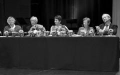 Jean-Pierre Lefebvre, Bernard Kreiss, Irene Weber Henking, Ulrike Bokelmann, Martin Ebel [©Yvonne Böhler]