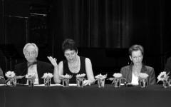Jean-Pierre Lefebvre, Bernard Kreiss, Irene Weber Henking, Ulrike Bokelmann (repr. Eva Moldenhauer), Martin Ebel [©Yvonne Böhler]