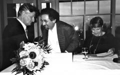 Walter Lenschen, François Debluë, Yla M. von Dach [©archive privée]