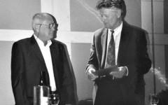 Claude Porcell et Walter Lenschen [©archive privée]