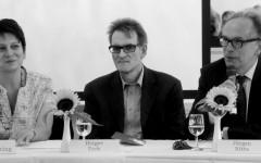 Irene Weber Henking, Holger Fock et Jürgen Ritte [©Yvonne Böhler]