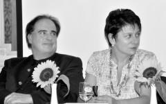 Jean-Yves Masson et Irene Weber Henking [©Yvonne Böhler]