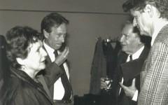 Anne-Marie Jaccottet, Philippe Jaccottet, Elmar Tophoven & Walter Lenschen [©archive privée]