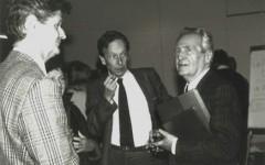 Walter Lenschen, Philippe Jaccottet & Elmar Tophoven [©archive privée]