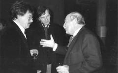 Gilbert Musy (au milieu) & Helmut Kossodo (à droite) [©archive privée]