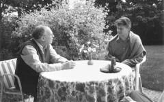 Georges-Arthur Goldschmidt & Walter Lenschen [©archive privée]