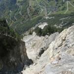 Caroline Christinaz: Etude des instabilités et analyse du danger rocheux. Le cas de la Crevasse, dans le district d'Entremont.