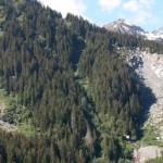 Florence Delasoie: Études des instabilités de versant de la Barmasse (Valais, Suisse) par une approche pluridisciplinaire.