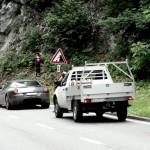 Jérémie Voumard: Simulation dynamique du trafic routier pour l'estimation du risque sur les routes de montagne