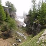 Maria Elena Fonticoba: Etude structurale et GPR de la région de Varneralp (Valais)