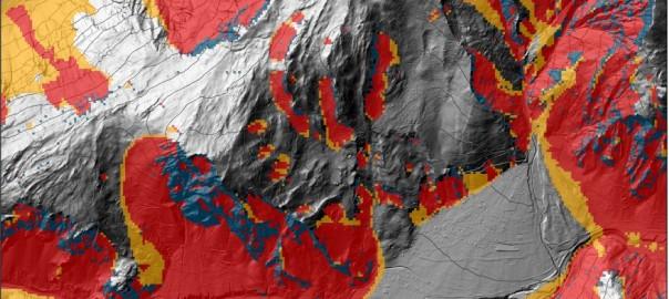 Rockfall susceptibility mapping