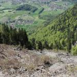 Lauren Gavillet: Dynamique d'érosion et étude de stabilité d'un petit bassin versant alpin: le cas du Courset (VD, Switzerland)