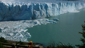 Survey on the Perito Moreno Glacier. Patagonian Andes