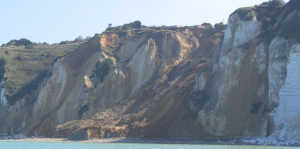 The Dieppe landslide