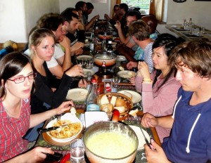 Group excursion, dinner