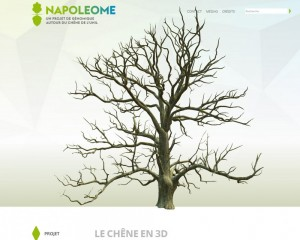 Napoleome website printsreen