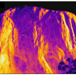 Olivier Dubas: La thermographie infrarouge dans le domaine du rocheux: éléments d'influence et corrections de la température apparente en température réelle
