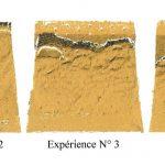 Nicolas Emery: Evaluation de l'influence de la hauteur d'eau et de l'inclinaison de la pente sur le comportement des glissements de terrain en laboratoire