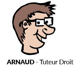 Arnaud, Tuteur Droit, Sherpa