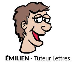 Emilien, Tuteur Lettres, Sherpa