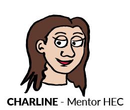 Charline, mentor HEC