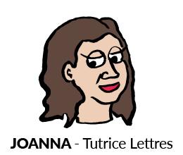 Joanna, Tutrice en Lettres, Sherpa
