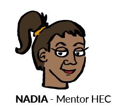 Nadia, mentor HEC