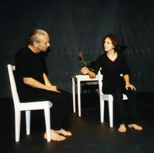 Thierry Chaibi et Gilda Bouchat © Silvano Prada